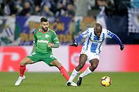 CD Leganes' Allan Romero Nyom (R) and Deportivo Alaves' Ruben Duarte  during La Liga match. November 23,2018. (ALTERPHOTOS/Alconada) /NortePhoto.com