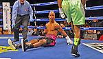 Rances Barthelemy derrotto a Argenis Méndez al filo de la campana en el segundo asalto y se y le arrebato el título junior ligero de la FIB al