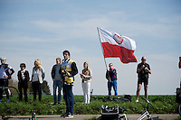 polish fan in Holland<br /> <br /> 50th Amstel Gold Race 2015