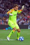 UEFA Champions League 2018/2019 - Matchday 1.<br /> FC Barcelona vs PSV Eindhoven: 4-0.<br /> Jeroen Zoet.
