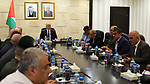 Palestinian Prime Minister, Rami Hamdallah, chairs a meeting of the leaders of the security establishment, in the West Bank city of Ramallah, on August 13, 2018. Photo by Prime Minister Office