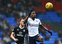 Bolton Wanderers' Sammy Ameobi  <br /> <br /> Photographer Leila Coker/CameraSport<br /> <br /> The EFL Sky Bet Championship - Bolton Wanderers v Fulham - Saturday 10th February 2018 - Macron Stadium - Bolton<br /> <br /> World Copyright &copy; 2018 CameraSport. All rights reserved. 43 Linden Ave. Countesthorpe. Leicester. England. LE8 5PG - Tel: +44 (0) 116 277 4147 - admin@camerasport.com - www.camerasport.com
