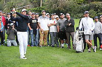 February 16, 2017: Bubba Watson during the first round of the 2017 Genesis Open played at Riviera Country Club in Pacific Palisades, CA.