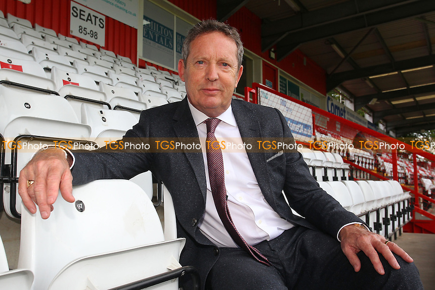 Stevenage Chairman Phil Wallace during Stevenage vs Hartlepool United, Sky Bet EFL League 2 Football at the Lamex Stadium on 3rd September 2016