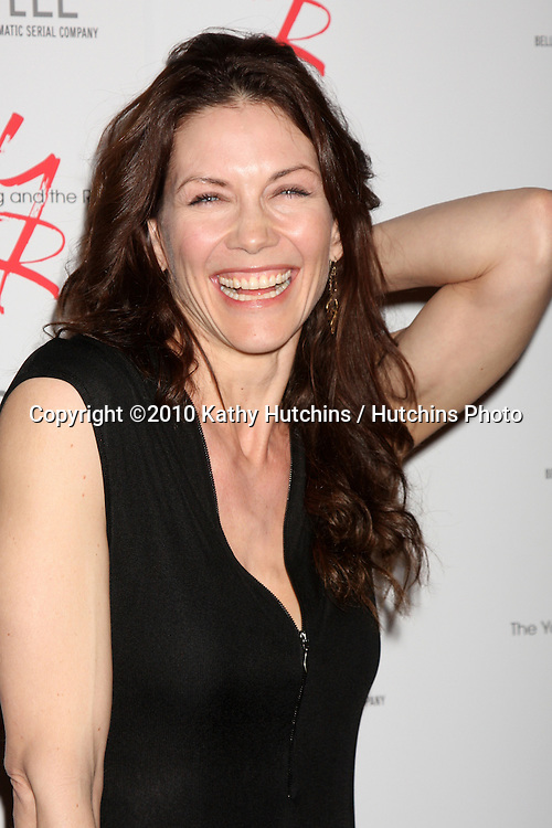 Stacy Haiduk .arrivng at The Young & The Restless 37th Anniversary Dinner.Via Allorro.Beverly Hills, CA.March 9, 2010.©2010 Kathy Hutchins / Hutchins Photo....