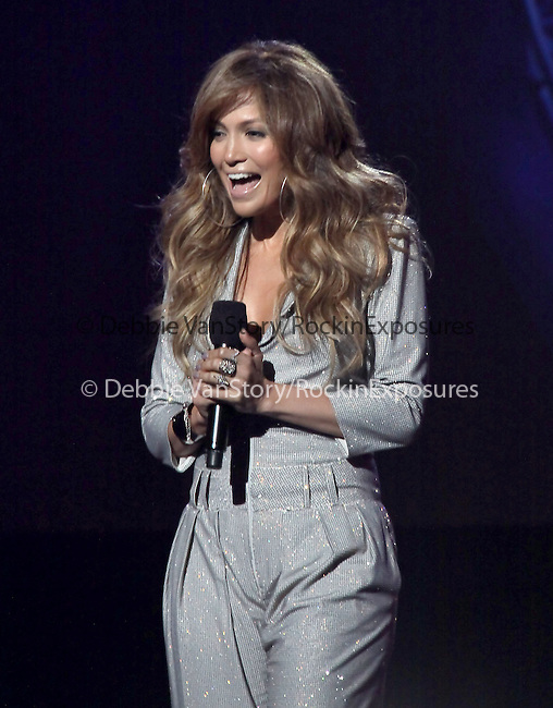 Jennifer Lopez  at The AMERICAN IDOL Season Ten judges' panel Announcement held at The Forum in Los Angeles, California on September 22,2010                                                                               © 2010 Hollywood Press Agency