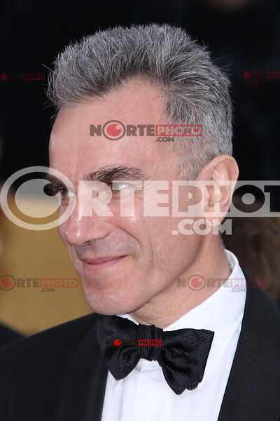 LOS ANGELES, CA - JANUARY 27: Daniel Day-Lewis at The 19th Annual Screen Actors Guild Awards at the Los Angeles Shrine Exposition Center in Los Angeles, California. January 27, 2013. Credit: MediaPunch Inc.