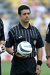 12 Jun 2004: Referee Marcel Yonan before the match. The Columbus Crew and Kansas City Wizards tied 2-2 at Crew Stadium in Columbus, OH during a regular season Major League Soccer game..