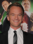 "HOLLYWOOD, CA - NOVEMBER 02: Neil Patrick Harris  arrives at the ""A Very Harold & Kumar 3D Christmas"" Los Angeles Premiere at Grauman's Chinese Theatre on November 2, 2011 in Hollywood, California."