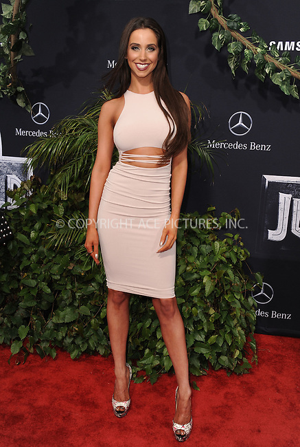 WWW.ACEPIXS.COM<br /> <br /> June 9 2015, LA<br /> <br /> Syd Wilder arriving at the world premiere of 'Jurassic World' at the Dolby Theatre on June 9, 2015 in Hollywood, California. <br /> <br /> <br /> By Line: Peter West/ACE Pictures<br /> <br /> <br /> ACE Pictures, Inc.<br /> tel: 646 769 0430<br /> Email: info@acepixs.com<br /> www.acepixs.com
