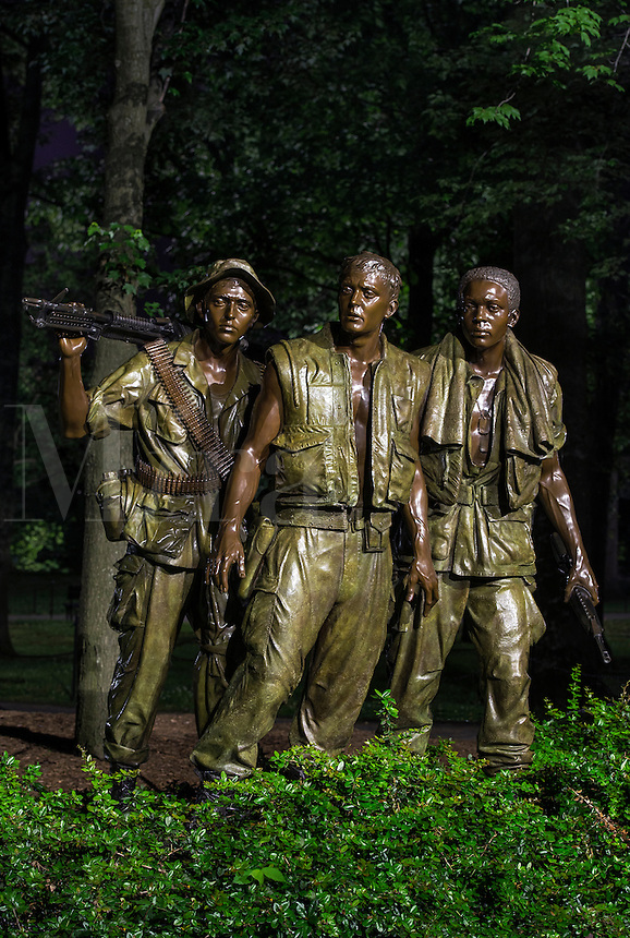 The Three Soldiers, Vietnam Veterans Memorial,