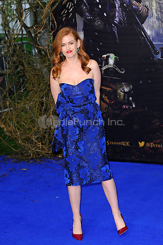 LONDON, ENGLAND - MAY 10: Isla Fisher attending the 'Alice Through The Looking Glass' European Premiere at Odeon Cinema, Leicester Square in London. on May 10, 2016 in London, England.<br /> CAP/MAR<br /> &copy; Martin Harris/Capital Pictures /MediaPunch ***NORTH AND SOUTH AMERICA ONLY***