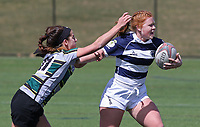 Penn State women's rugby Carly Waters against Allegheny All Stars women's rugby on March 31, 2018.  Photo/© 2018 Craig Houtz
