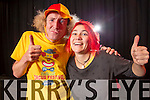 Ronaldo Fanzini and Michaela Heyer performing at Tralee Circus Festival at Siamsa on Saturday.