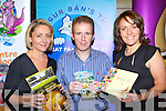 Lisa Geaney Crag Caves, Castleisland, Paul Morgan Muckross Farms and Sandra Leahy Kerry Couty Museum at the Kerry tourism business show in the Malton Hotel Killarney on Thursday..