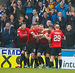 20.10.2018 St Mirren v Kilmarnock:  Alan power celebraters his goal