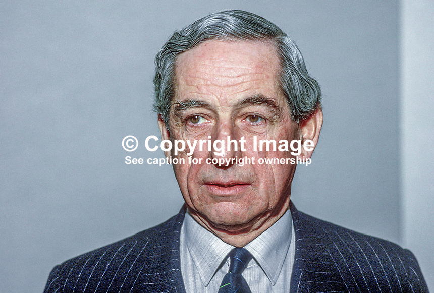 Frank J O'Reilly, chairman, Ulster Bank Ltd, N Ireland, UK, 19850023FJOR.<br />