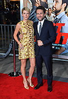 Charlie Day &amp; Mary Elizabeth Ellis at the world premiere for &quot;Fist Fight&quot; at the Regency Village Theatre, Westwood, Los Angeles, USA 13 February  2017<br /> Picture: Paul Smith/Featureflash/SilverHub 0208 004 5359 sales@silverhubmedia.com
