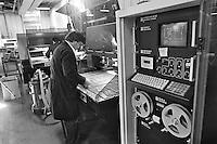 - Zincocelere plant, Olivetti subsidiary in Cavaglià (Turin), production of electronic printed circuits (1984)....- stabilimento Zincocelere, consociata Olivetti,  a Cavaglià (Torino), produzione di circuiti elettronici stampati (1984)