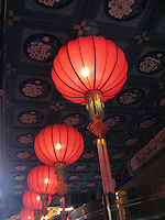 Red Chinese Lanterns signify good luck