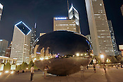 Cloud Gate Sculpture, Millennium Park, Chicago. Ernie Mastroianni photo.
