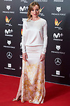 Angela Cremonte  attends red carpet of Feroz Awards 2018 at Magarinos Complex in Madrid, Spain. January 22, 2018. (ALTERPHOTOS/Borja B.Hojas)
