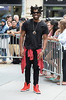 www.acepixs.com<br /> July 13, 2017 New York City<br /> <br /> Flying Lotus was seen leaving a taping of AOL Build  in New York City on July 13, 2017.<br /> <br /> Credit: Kristin Callahan/ACE Pictures<br /> <br /> Tel: 646 769 0430<br /> Email: info@acepixs.com