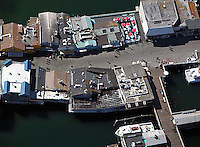 aerial photograph pier Monterey, California