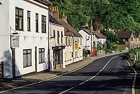 Wales, Tintern Village Street Scene.