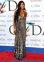 NEW YORK CITY, NY, USA - JUNE 02: Naomi Campbell arrives at the 2014 CFDA Fashion Awards held at Alice Tully Hall, Lincoln Center on June 2, 2014 in New York City, New York, United States. (Photo by Celebrity Monitor)