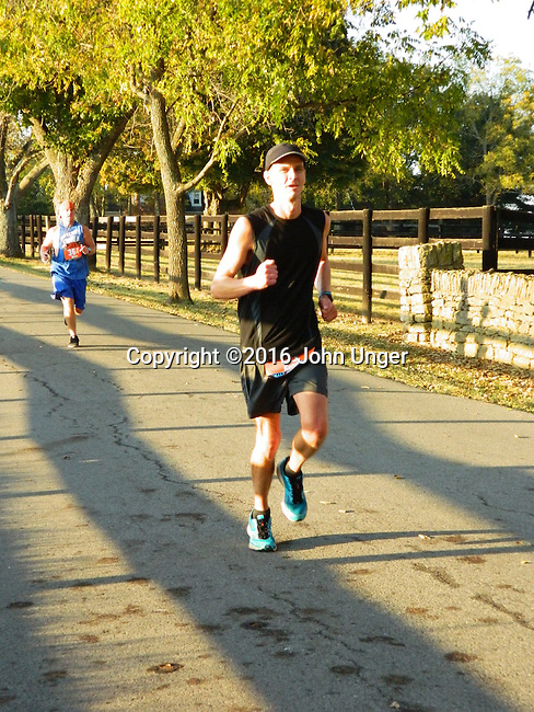 2016 Iron Horse Half Marathon<br /> Midway, Kentucky October 16<br /> Photo by John Unger<br /> <br /> To download complimentary Small or Medium size files, use the password &quot; john 35 &quot;. Larger size digital files and prints are available for purchase. You do not need a Photoshelter or PayPal account but the ordering process is streamlined if you have them.