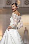 02.05.2014 Barcelona, Spain. Barcelona Bridal week. Pronovias catwalk