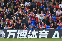 Patrick van Aanholt of Crystal Palace during Crystal Palace vs Brighton & Hove Albion, Premier League Football at Selhurst Park on 14th April 2018