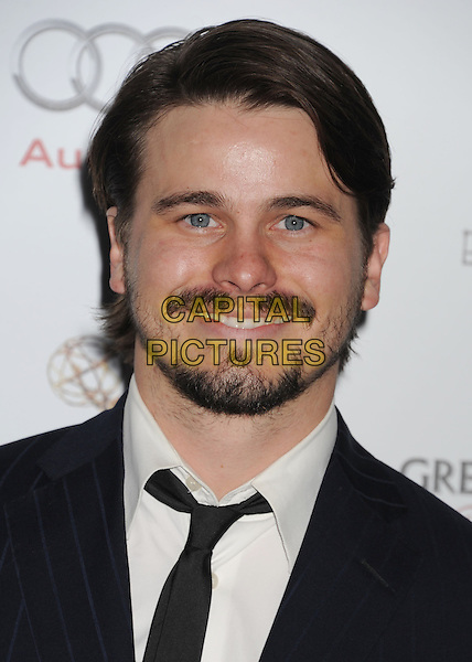 Jason Ritter.The 64th Primetime Emmy Awards Performers Nominee Reception held at Spectra by Wolfgang Puck at the Pacific Design Center in West Hollywood, California, USA..September 21st, 2012.headshot portrait black white tie beard facial hair .CAP/ROT/TM.©Tony Michaels/Roth Stock/Capital Pictures