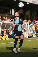 Paul Hayes of Wycombe Wanderers during the Sky Bet League 2 match between Wycombe Wanderers and Mansfield Town at Adams Park, High Wycombe, England on 25 March 2016. Photo by David Horn.