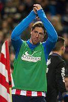 Atletico de Madrid´s Fernando Torres during 2014-15 La Liga match between Atletico de Madrid and Rayo Vallecano at Vicente Calderon stadium in Madrid, Spain. January 24, 2015. (ALTERPHOTOS/Luis Fernandez) /NortePhoto<br /> NortePhoto.com