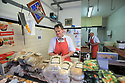 TO GO WITH BREXIT STORY BY WWILLIAM WALLIS DATE: 31 Jan 2019 - William Collins in his butchers shop in Bessbrook, South Armagh, Northern Ireland. Photo/Paul McErlane
