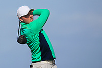 Robin Dawson from Ireland on the 10th tee during Round 2 Singles of the Men's Home Internationals 2018 at Conwy Golf Club, Conwy, Wales on Thursday 13th September 2018.<br /> Picture: Thos Caffrey / Golffile<br /> <br /> All photo usage must carry mandatory copyright credit (&copy; Golffile   Thos Caffrey)
