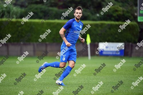 2017-08-08 / Voetbal / Seizoen 2017-2018 /  KVV Vosselaar / Yannick Defossez<br /> <br /> <br /> ,Foto: Mpics.be