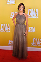 NASHVILLE, TN - NOVEMBER 1: Martina McBride on the Macy's Red Carpet at the 46th Annual CMA Awards at the Bridgestone Arena in Nashville, TN on Nov. 1, 2012. © mpi99/MediaPunch Inc. /NortePhoto
