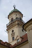 Europe/République Tchèque/Prague:  le Clementinum, la Tour astronomique du Clementinum