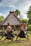 INDONESIA, Flores, men demonstrates traditional boxing in Kampung Tutubhada village in Rendu