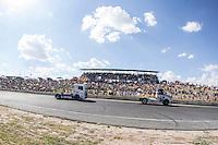 Czech driver Adam Lacko belonging Czech team Buggyra International Racing System during the fist race R1 of the XXX Spain GP Camion of the FIA European Truck Racing Championship 2016 in Madrid. October 01, 2016. (ALTERPHOTOS/Rodrigo Jimenez) /NortePHOTO /NORTEPHOTO.COM