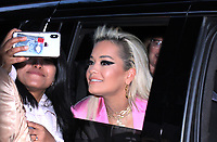 NEW YORK, NY - January 16: Rita Ora seen leaving for The Tonight Show Starring Jimmy Fallon in New York City on January 16, 2019. Credit: RW/MediaPunch
