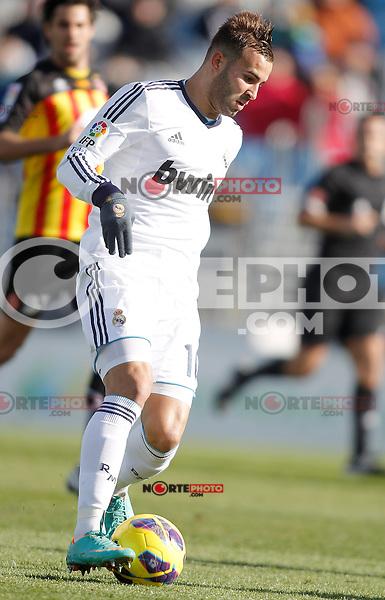 Real Madrid Castilla's Jese Rodriguez during La Liga match. January 13, 2013. (ALTERPHOTOS/Alvaro Hernandez)