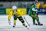 Stockholm 2013-12-03 Bandy Elitserien Hammarby IF - Ljusdals BK :  <br /> Ljusdal Kalle M&aring;rtensson i aktion <br /> (Foto: Kenta J&ouml;nsson) Nyckelord: