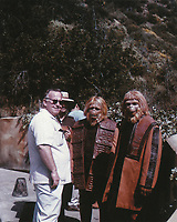 Planet of the Apes (1968) <br /> Behind the scenes photo of John Chambers<br /> *Filmstill - Editorial Use Only*<br /> CAP/KFS<br /> Image supplied by Capital Pictures