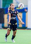 Stockholm 2015-09-27 Fotboll Damallsvenskan Hammarby IF DFF - FC Roseng&aring;rd :  <br /> Roseng&aring;rds Alexandra Riley i aktion under matchen mellan Hammarby IF DFF och FC Roseng&aring;rd <br /> (Foto: Kenta J&ouml;nsson) Nyckelord:  Fotboll Damallsvenskan Dam Damer Zinkensdamms IP Zinkensdamm Zinken Hammarby HIF Bajen FC Roseng&aring;rd portr&auml;tt portrait