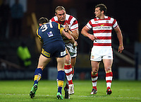PICTURE BY VAUGHN RIDLEY/SWPIX.COM - Rugby League - Super League - Leeds Rhinos v Wigan Warriors - Headingley, Leeds, England - 01/06/12 - Wigan's Gil Dudson.