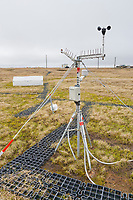 Climate research station in Utqiagvik (Barrow), Alaska.